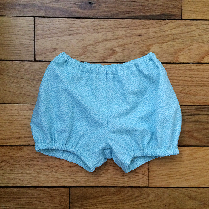 Wiksten bloomers, finished