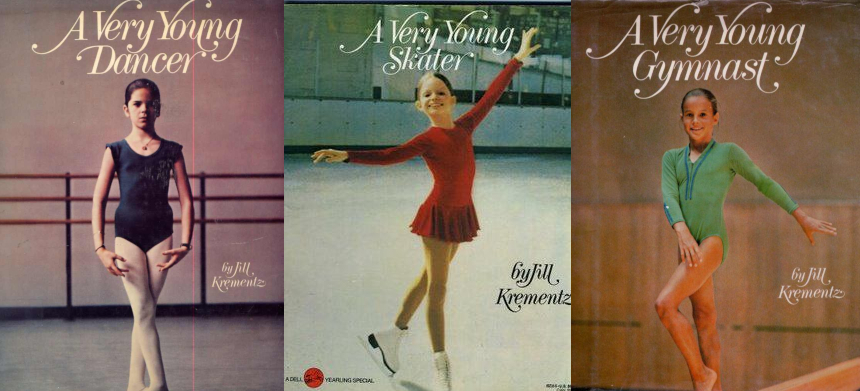 (L-R) Book covers: A Very Young Dancer, A Very Young Skater, A Very Gymnast.
